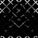 Seo Web Envelope Icon