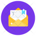 Email Letter Text Icon