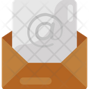 Mail Letter Communication Icon
