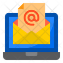 Email Mail Laptop Icon