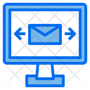 Computer Mail Online Icon