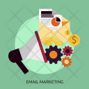 Email Marketing Process Icon