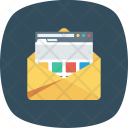 Email Envelope Web Icon
