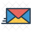 Email Message Sending Icon