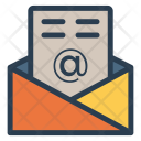 Email Open Message Icon