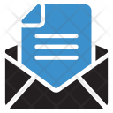 Email Open Mail Icon