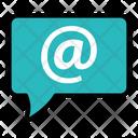 Address Bubble Communication Icon