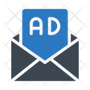 Ads Email Message Icon