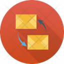 Email Advertising Transfer Email Campaign Icon