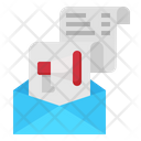 Email Advertising Megaphone Icon
