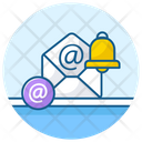 Email Alert Message Notification Message Bell Icon