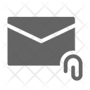Email Attach Attachment Icon
