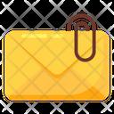 Email Attachment File Attachment Correspondence Icon