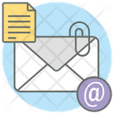 Email Attachment Airmail Email Icon