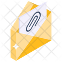 Email Attachment Mail Attachment Attach File Icon