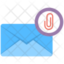 Email Attachment Newsletter Icon