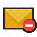 Email Delete Mail Icon