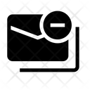 Email Block Block Chain Icon