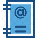 Email Book Icon