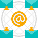 Email Broadcast Icon
