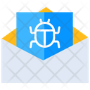 Email Bug Mail Bug Message Bug Icon