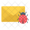 Letter Bug Email Bug Email Virus Icon