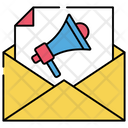 Email Campaign Email Promotion Mail Publicity Icon