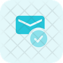 Email Check Mail Check Mail Send Icon