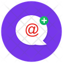 New Mail Add Email Email Conversation Icon