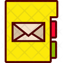 Email Contacts List Icon