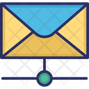 Email Data Share Email Share Network Icon