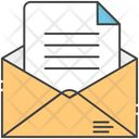 Email Document Opening Email Email Letter Icon