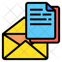Email Document Email Document Icon