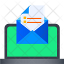 Email Documnet Mail Open Documeny Icon