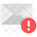 Email Error Spam Email Mail Alert Icon