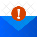 Email Error Spam Email Message Icon