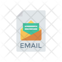 Email File Record Icon