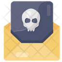 Email Hacking Infected Email Cybercrime Icon