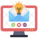 Email Idea Electronic Mail Online Mail Icon