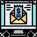 Email Invoice Icon