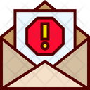 Email Junk Mail Icon