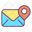 Memail Location Map Email Location Email Address Location Icon