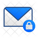 Email Lock Lock Message Icon