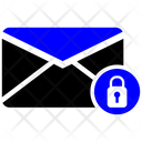 Email Lock Mail Icon
