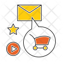 Email Marketing Seo Icon
