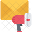 Email Letter Megaphone Icon