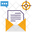 Email Marketing Content Marketing Data Send Icon