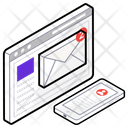 Email Marketing Web Marketing Email Advertisement Icon