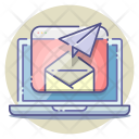 Email Marketing Newsletter Campaign Icon