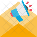 Email Marketing Loudspeaker Icon